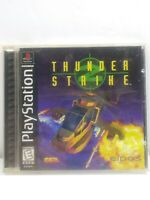 Thunder Strike 2 PS1 Playstation 1 Complete Game, Case and Manual