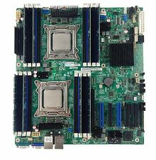 Intel S2600CP2J Motherboard Dual 2011 Socket 2 x E5-2665 SR0L1 CPU 128GB RAM