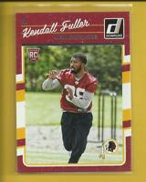 Kendall Fuller RC 2016 Panini Donruss Rookie Card Kansas City Chiefs NFL
