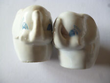 Elephant Salt And Pepper Shakers Pots Novelty Collectables