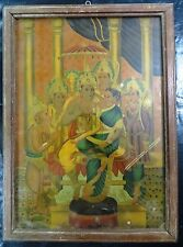 Bhav Bul & Co.London Ravi Varma original Plagiarizing Print Made in Germany Rare