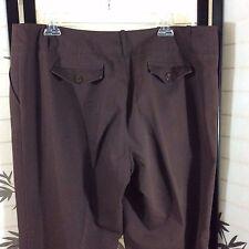 "Women's Ingredients Brown Stretch Pants Size 14 Waist 38 x 32.5 Rise 11"" EUC"
