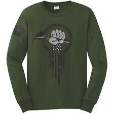 Excavator long sleeve t-shirt USA pipeliner excavation patriotic superhero shirt