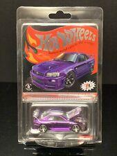 Hot Wheels RLC Membership Car Purple Nissan Skyline GT-R (BNR34)