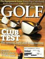Sports Illustrated - Golf Magazine May 2007 - Sergio Garcia, Tim Herron