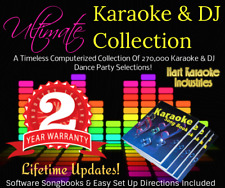 Professional Karaoke Songs and DJ Collection - Monthly Updates - USB Hard Drive