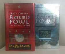 Eoin Colfer - Atermis Fowl SIGNED 1st/1st The Eternity Code & Arctic Incident