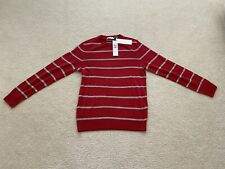 CK Calvin Klein Celebrity Red Wool Sweater S Small Mens Retails $98