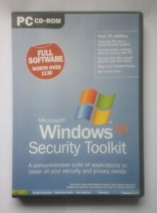 Microsoft Windows XP Security Toolkit PC CD-ROM worth over £130 over 70 utilitie