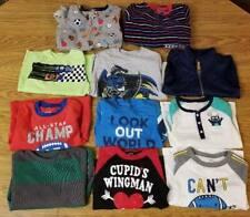 Boys Clothes Lot Sz 5T Carters Long Sleeve T-shirts & Pajamas PJs