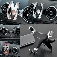 For Audi A3 & S3 Car Air Outlet Phone Holder Stand AutoBot Gravity Gear Linkage