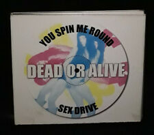 Dead Or Alive – You Spin Me Round / Sex Drive (CD) US - 2 Discs