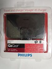 Philips GoGear Case + AC adapter Travel Kit PAC018/37  -10