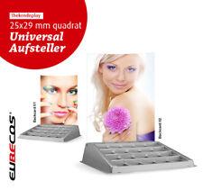 Verkaufsdisplay Universal Aufsteller und Backcard FREIE WAHL 25 x Quadrat 29mm