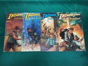 INDIANA JONES FATE OF ATLANTIS  #1-4 Complete Set High Grade NM DARK HORSE 1991
