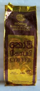 Coffee Ceylon HARISCHANDRA 100% Natural real freshness flavor with aroma 100g