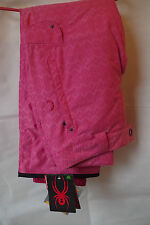 Spyder Godmother ski Trousers womens size L - Pink, Size 14