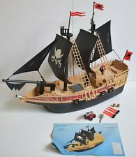 Playmobil 6678 Pirate Ship excellent condition no klickies