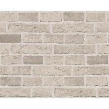 NEW AS CREATION HOUSE BRICK PATTERN FAUX EFFECT EMBOSSED WALLPAPER