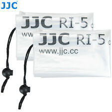 "2X JJC RI-5 18""x7"" Waterproof Rain Cover Protector for Camera + Lens Canon Nikon"