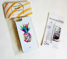 2x SCHUTZFOLIE + Design HÜLLE für IPHONE 4G 4S screen protection cover NEU