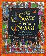 The Stone in the Sword: The Quest for a Stolen Emerald-ExLibrary