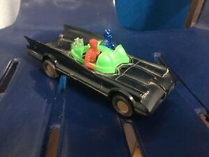 Very Rare Batman Robin Plastic DC Comics 1976 Toy Car