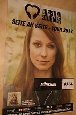 Christina Stürmer Tourplakat/Tourposter 2017 - München - NEU