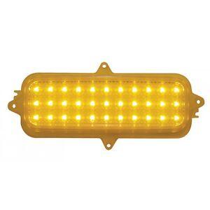 1960 1966 Pair 2 LED C10 Chevrolet Pickup Truck Amber Turn Signal Parking Light