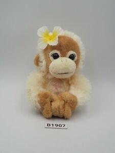 "Baby Coco & Natsu B1907 Orangutan Magnetic Hand Mascot 4"" Plush Toy Doll Japan"