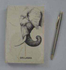 Elephant Dung Note Book Plain Ceylon Eco Friendly and Save the Planet 50 pages M