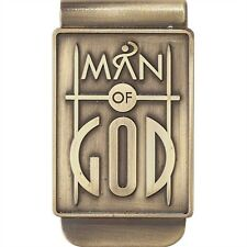Man of God Money Clip, Metal, by Dicksons MC-106
