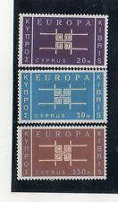 Chipre Europa CEPT serie del año 1963 (CQ-500)