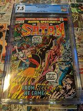 Marvel Spotlight #12 CGC 7.5 Origin of Son of Satan