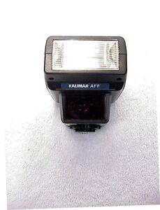 Kalimar AFF Autofocus TTL Flash | FOR Nikon N Series & F4s-| Nikon AF | NEW | BX