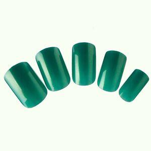 Wholesale 12 sets/Lot 24pcs Full False Nails Tips Salon Fake Fingernail Patches