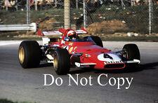 Clay Regazzoni Ferrari 312 B Italian Grand Prix 1970 Photograph