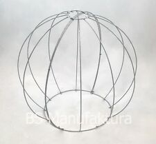 Topiary metal wire frames set BALL GLOBE 50+40+30cm