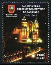 Peru 2014 Kirche Church Archtitektur Architecture Barranco Brücke Postfrisch MNH