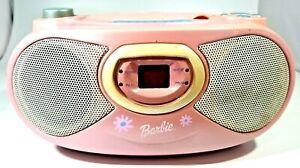 Barbie BE-494 AM/FM Radio CD Player (2002)