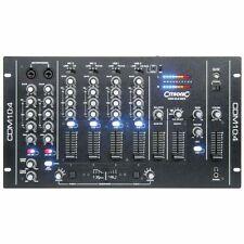 "Citronic CDM10:4 (MKV) 19"" 4 CHANNEL USB MIXER STUDIO STAGE 171.135"