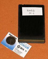 Memory Card Speicherkarte KORG M1 / M1R MCR-03 + M1 / M1R Factory-Sounds