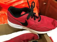 Shoes Nike Kaishi GS 705489 601 SIZE 5Y GYMRED/BLACK MSRP $60