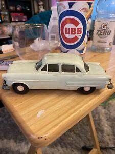 VINTAGE 1953 FORD SEDAN DEALER PROMO CAR Light Green Customline Cracked