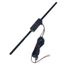 Car Hidden Amplified Antenna 12V Electronic Stereo AM/FM Radio Universal Kits