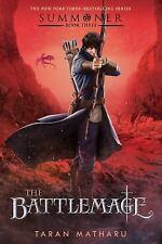 (NEW) The Summoner Trilogy The Battlemage bk.3 by Taran Matharu (2017 Hardcover)
