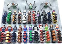 LEGO SUPER HERO MINIFIGURES AUTHENTIC MARVEL DC SUPERHEROES MANY RARES YOU PICK!