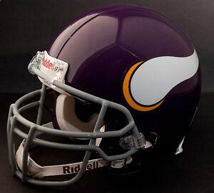 RANDY MOSS Edition MINNESOTA VIKINGS Riddell REPLICA THROWBACK Football Helmet