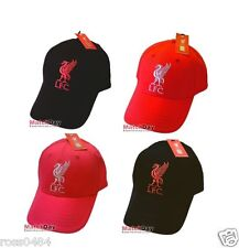 Liverpool FC Official Cap & Sun Bucket Hat Black Red Selection