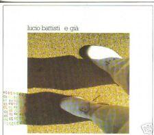 CD LUCIO BATTISTI - E GIA' - 1982 DISCO DELLA SVOLTA !!
